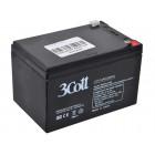Батарея 3Cott Аккумулятор 12V12Ah {0104363}