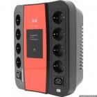 3кот 3Cott ИБП Cascade 3C-850-SPB 850VA/480W, линейно-интерактивный, управляемый, 3-х ступенчатый {0369155}