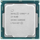 Процессор Intel CORE I3-8100 S1151 BOX 6M 3.6G BX80684I38100 S R3N5 IN