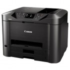 МФУ Canon MAXIFY MB5140, 4-цветный струйный принтер/сканер/копир/факс, A4, 24 (15.5 цв) изобр./мин, 600x1200 dpi, ADF, дуплекс, подача: 250 лист., Ethernet, USB, Wi-Fi, печать фотографий, цветной ЖК-дисплей