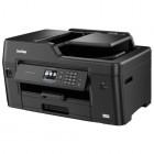 МФУ Brother MFC-J3530DW 4-цветный струйный принтер/сканер/копир/факс, A3, 22 (20 цв) изобр./мин, 4800x1200 dpi, 128 Мб, дуплекс, ADF50, подача: 251 лист., вывод: 50 лист., Ethernet, USB, Wi-Fi, печать фотографий, цветной ЖК-дисплей