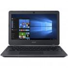 "Ноутбук Acer TravelMate TMB117 [NX.VCGER.017] black 11.6"" {HD Cel N3060/4Gb/128Gb/W10Pro}"