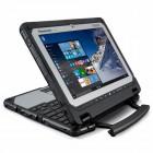 Ноутбук трансформер CF-20 Core m5-6Y57, 1.1Ghz-2.8Ghz, 4Mb cache, 8Gb, 256Gb SSD, 10.1 WUXGA(IPSa), TouchScreen, WebCam, RearCam, BT, WiFi, RS-232, VGA, HDMI, 1xUSB2.0, 3xUSB3.0, 2xRJ-45, SD/SDXC, LTE, Win10 Pro Toughbook CF-20 LTE(Gobi5000) Core m5-6Y57,